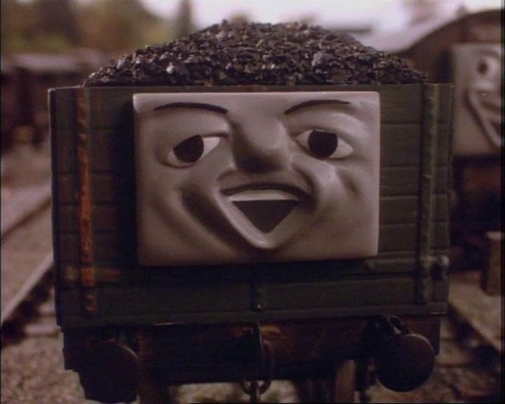 顔付きのイギリス国鉄の20トンブレーキ車の顔のモデル
