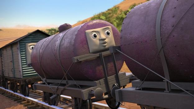TV版長編第14作の顔付きタンク車3