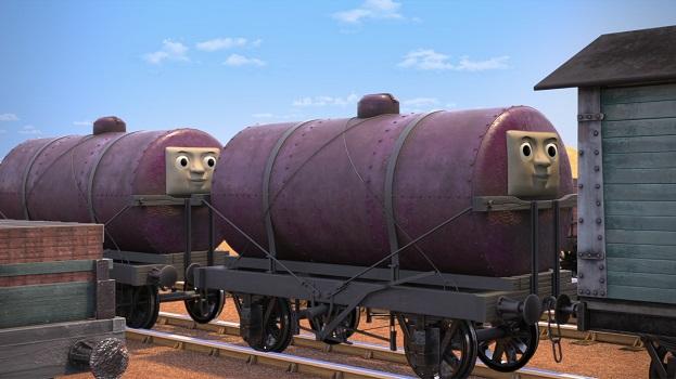 TV版長編第14作の顔付きタンク車2