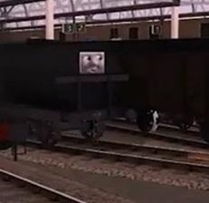 Trainz 2009の黒い顔つきタンク車2