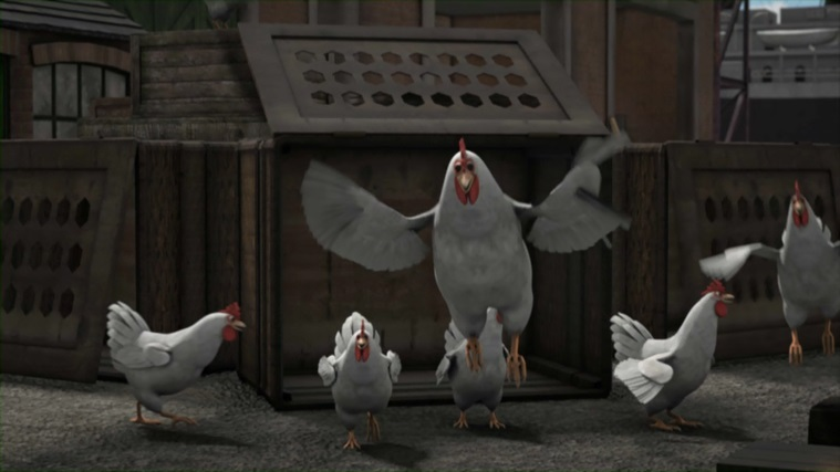 TV版第17シーズンの鶏