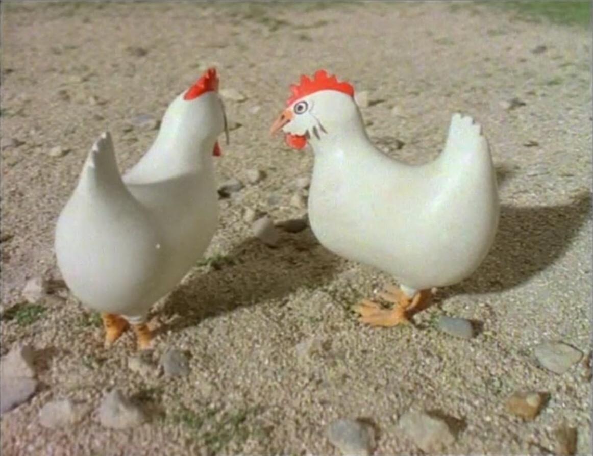 TV版第3シーズンのバルジーの雌鶏2