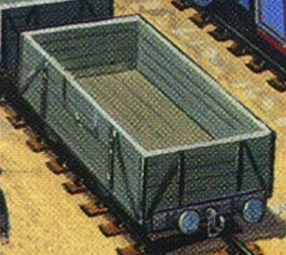 原作第8巻の4型無蓋貨車