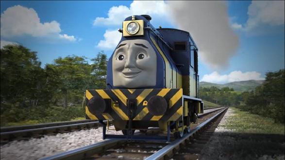 TV版木製レール付属映像のビデオのローガン