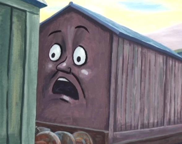 Mr.Perkins Storytimeの塩の有蓋貨車