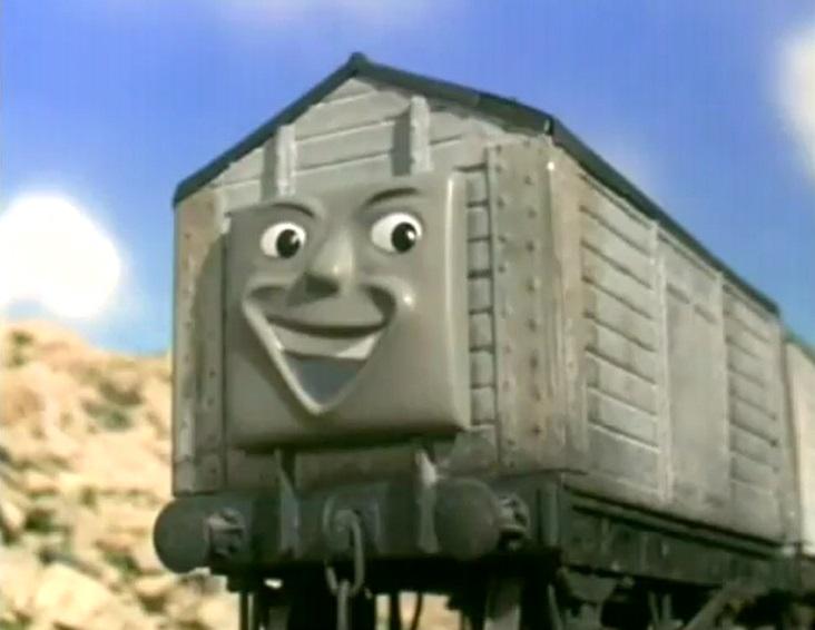 TV版第7シーズンの灰色の塩の有蓋貨車(タイプ1)