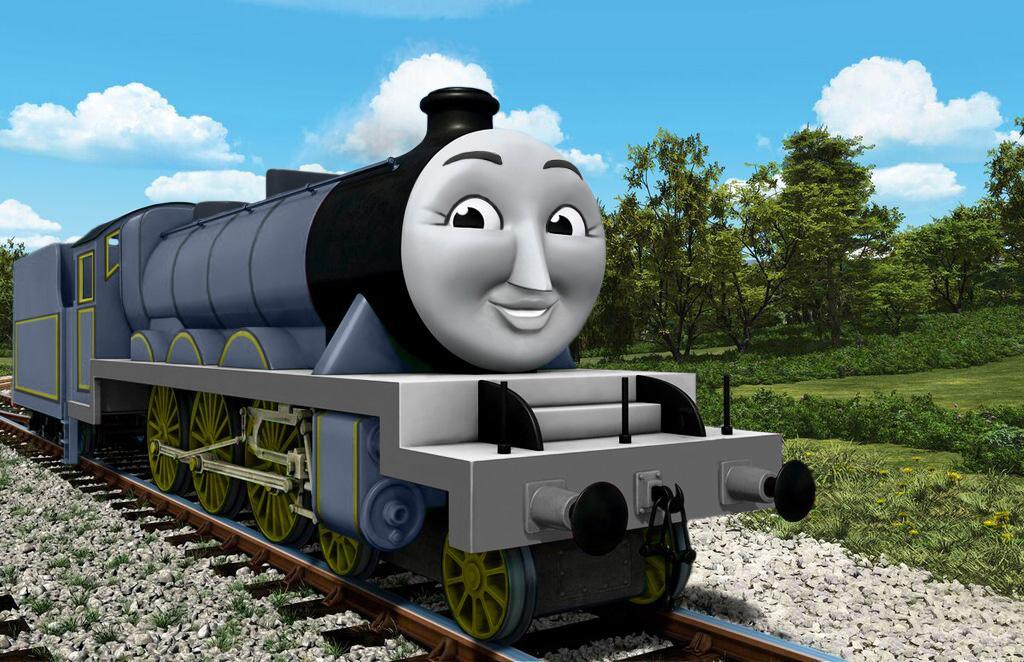 TV版第22シーズンの灰色のテンダー機関車