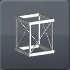 立方体型オクタゴン ストラット
