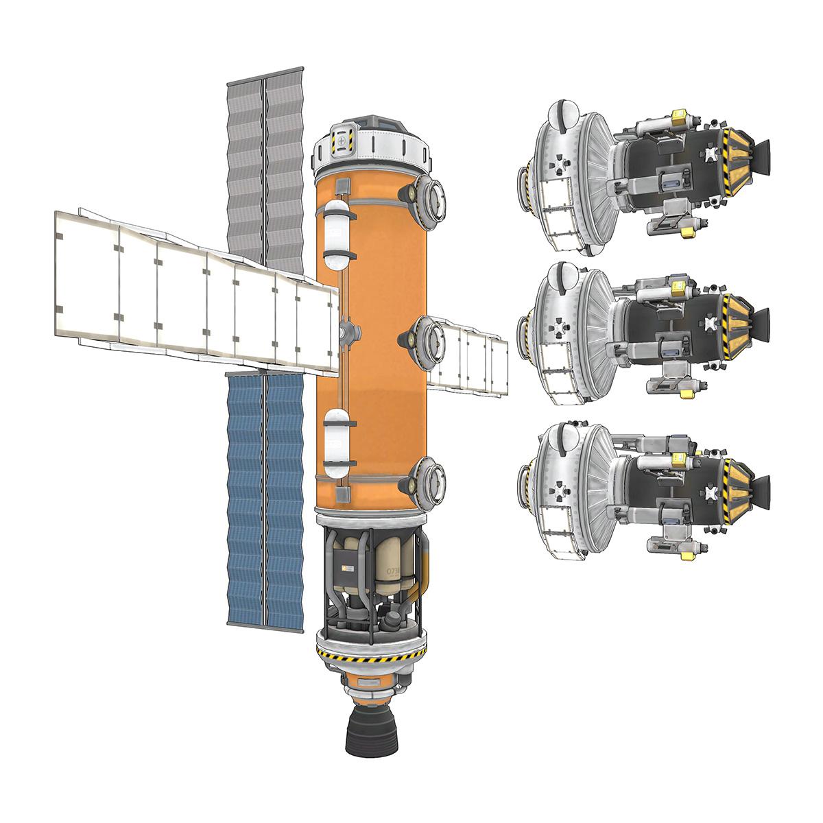 1 1 3】Minmus採掘・燃料基地 - Kerbal Space Program AAR Wiki*