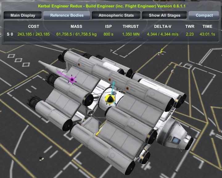 全機能内蔵型飛行列車 - Kerbal Space Program AAR Wiki*