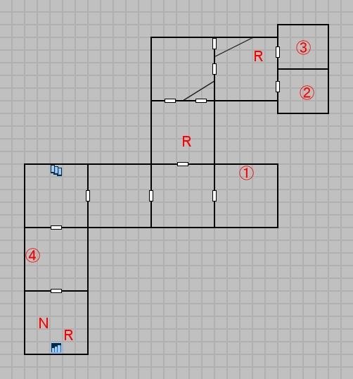 第一層のマップ