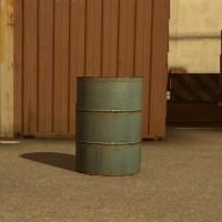 ドラム缶(青)