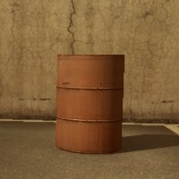 ドラム缶(赤)