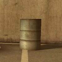 ドラム缶(シルバー)