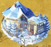 雪だるまの小屋