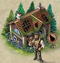 狼の隠れ家