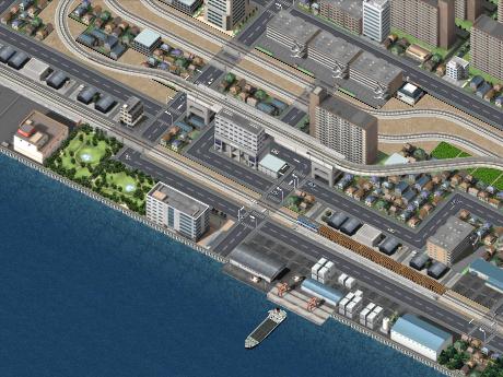夢浜新港駅