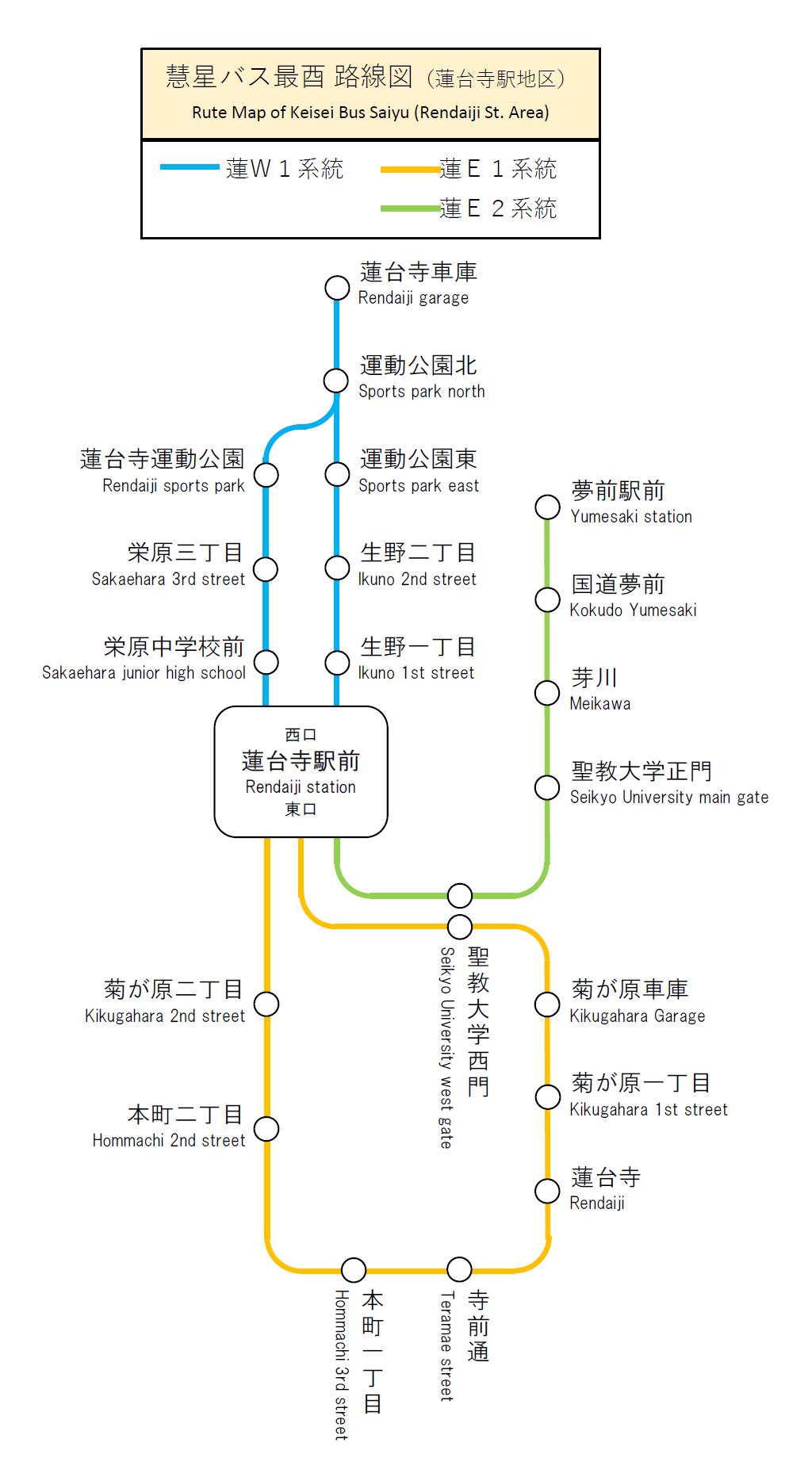 慧星バス最酉路線図(蓮台寺駅地区).png