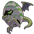 ドラゴンエッグ(緑)