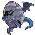 ドラゴンエッグ(青)
