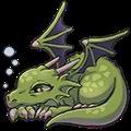 レイジードラゴン(緑)