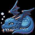 レイジードラゴン(青)