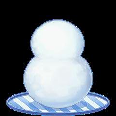 白のだるま(中級)