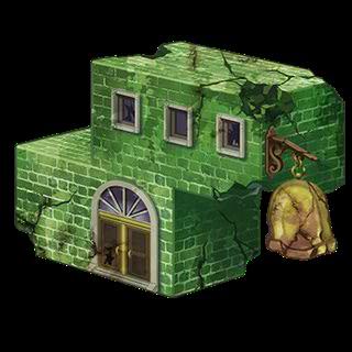 緑の建材・幻影