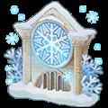 雪精の幻壁