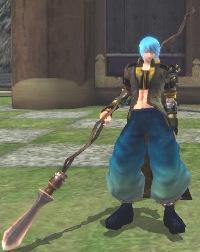 鎖木蓮の槍