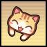猫ヘアピン(オレンジ).png