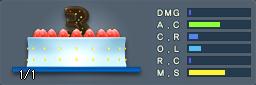 3周年記念ケーキ