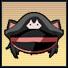 パピルスの旧軍帽(黒).jpg