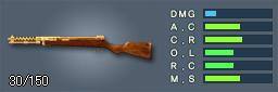 100式機関短銃(ゴールド)