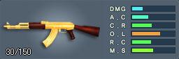 AK-47(ゴールド)