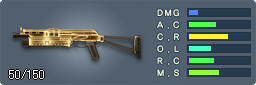 PP-19 Bizon(ゴールド)
