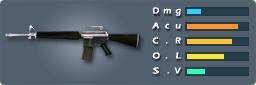 M16(シルバー)