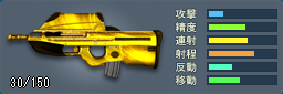 FN F2000(ゴールド)