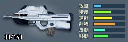 FN F2000(シルバー)