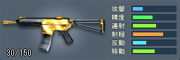 KAC PDW(ゴールド)