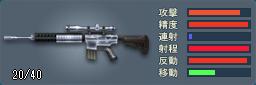 Knights SR-25(シルバー)