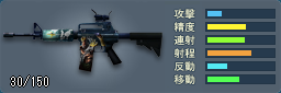 M4A1-DOT(Poseidon)