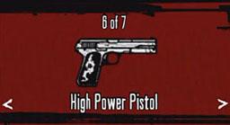 High Powered Pistol