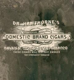 喫煙者なら是非。Hawthorne医師の国産葉巻
