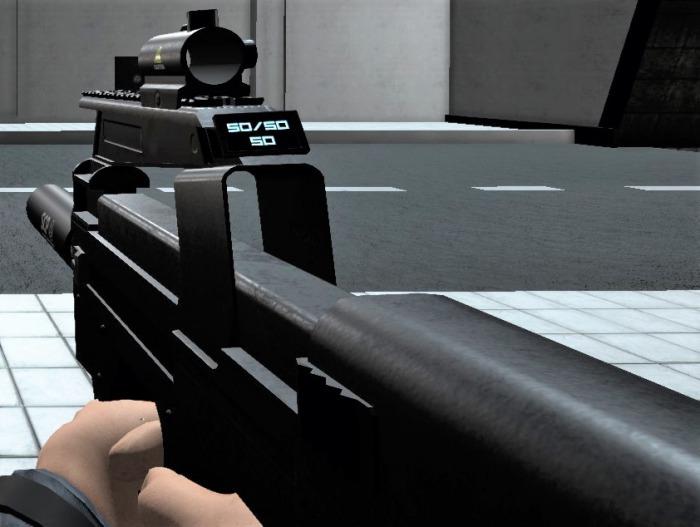 アイテム/武器/P-90 - SCP:Secret Laboratory Wiki*