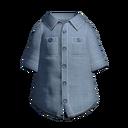 シャンブレーシャツ