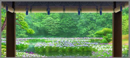二十四節気 芒種・花菖蒲