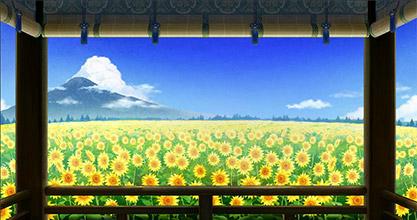 二十四節気 立秋・向日葵