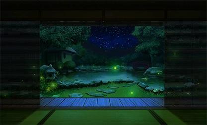 夏の庭・夜