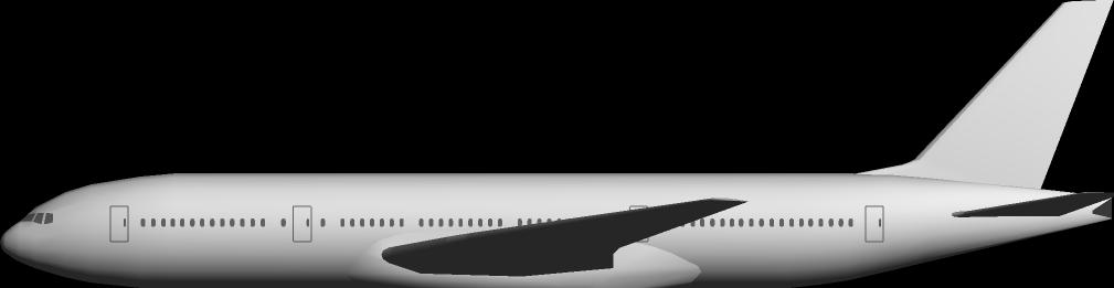 B777-200テクスチャ製作用型紙